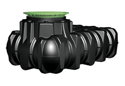 Platin vlakke tank 7500 L