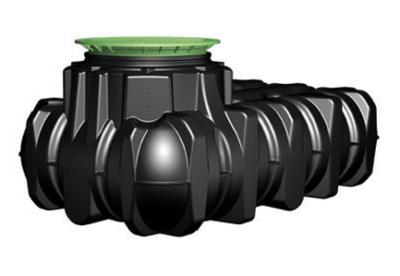 Platin vlakke tank 1500 L