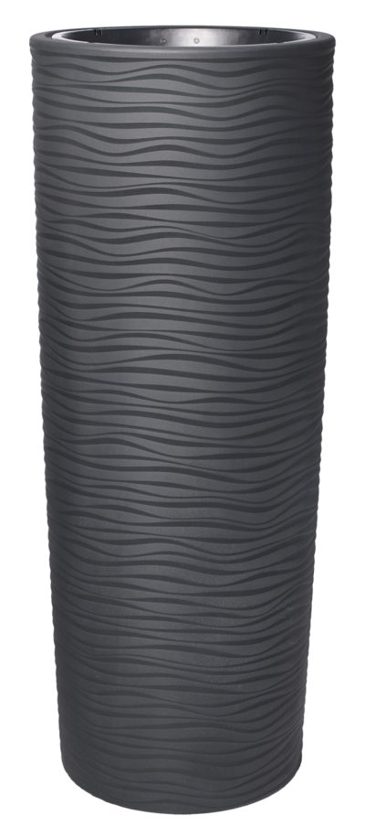 Bloemzuil Graphite 150cm